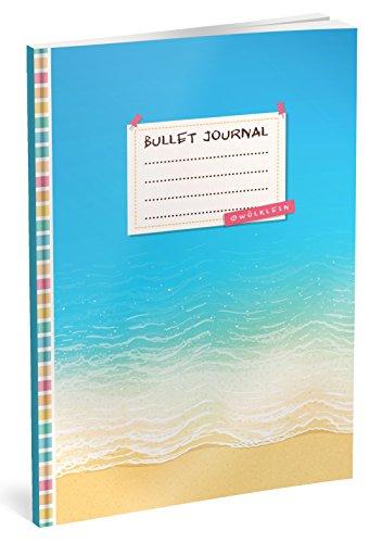 Strand Dot (Bullet Journal: Punktraster Notizbuch (Ca. A5) + 100 Seiten + Vintage Softcover | TOP Motiv: Strand | Dot Grid Journal, Kalligraphie Übungsheft, Punktpapier +++ Jetzt mit Register +++)