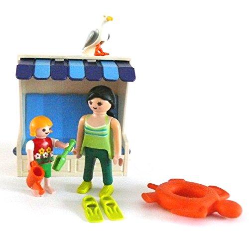 LEGO ® - Mutter Kind Schwimmring Gieskanne Strandkorb Möwe usw