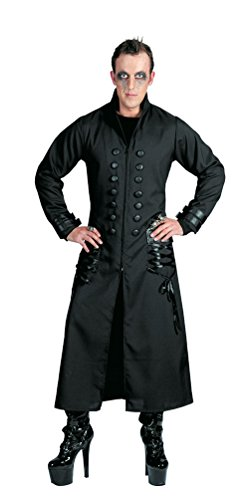 Karneval Klamotten Kostüm Mantel Halloween Gothic Graf Herrenkostüm 52/55