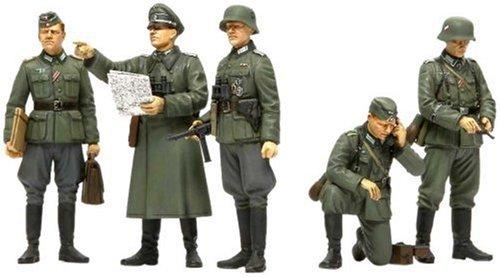 Tamiya 300035298 - 1:35 WWII Figuren-Set Deutsche Oberbefehlshaber (5)
