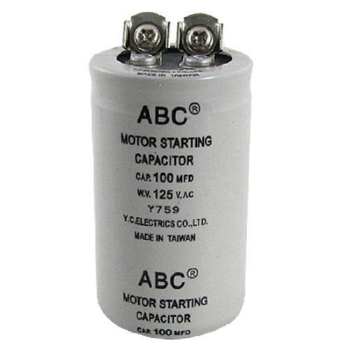 Zylinder 100MFD 125V AC Motor starten Kondensator (Motor 125v)