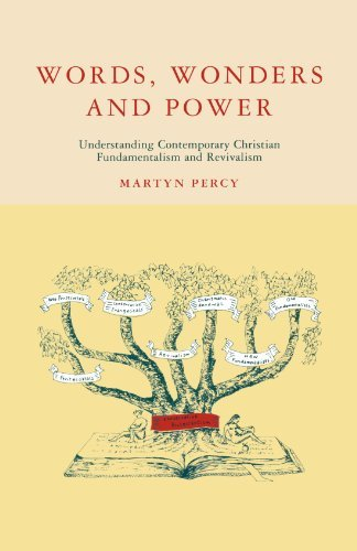 Words, Wonders and Power by Martyn Percy (1996-02-29)