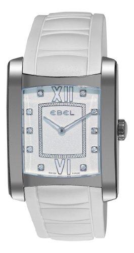 Ebel Women's 9256M43/108WC35 Brasilia White Diamond Dial Watch