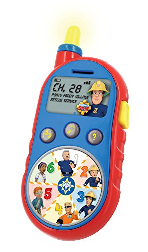 Image of KD Toys S13250 Fireman Sam Rescue Receiver Toy