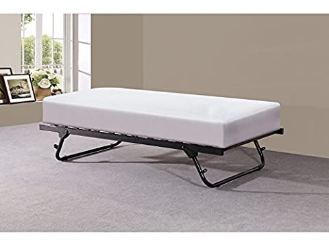 3ft Single Metal Under Bed Trundle in