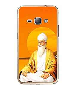 PrintVisa Designer Back Case Cover for Samsung Galaxy J1 (2016 Edition) (sikh guru the strong and powerful)