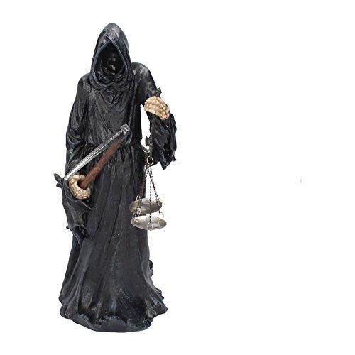 Deko Figur Sensenmann Reaper Vater Tod mit Sense und Waage Horror Gothic Halloween NN78