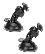 """Supporto a Ventosa Per Yi Dash Cam 2.7"""" 165 Gradi 130 Gradi Wifi Telecamera Per Auto"""