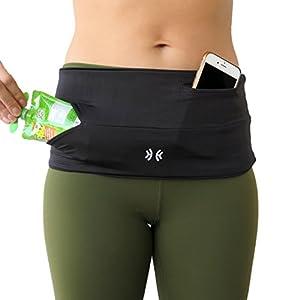 Limber Stretch Original HIP Hug PRO Hüftgürtel Fitneßgürtel Hüfttasche für Sport oder Reisen, jetzt auch in ÜBERGRÖßEN