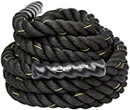 AmazonBasics Heavy Exercise Training Workout Battle Rope