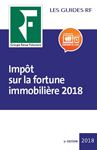 Impt sur la fortune immobilire 2018