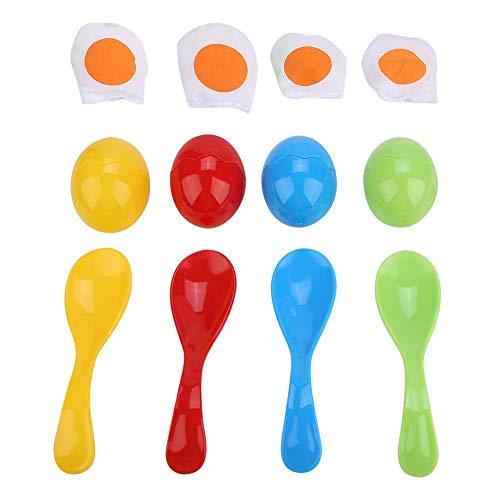 Alomejor Balance Löffel Spielzeug Ei und Löffel Staffel Balance Rennen Spaß Spiele für Kinder Party (Spaß-party-spiele Kinder Für)