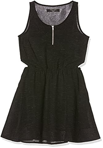 Teddy Smith Revel, Robe Fille, Noir (Unique), FR: 16 Ans (Taille Fabricant: 16)