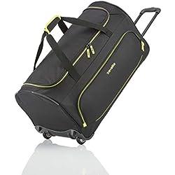 Travelite Basics Trolley Reisetasche Fresh Auf Rollen 70cm, in sechs Farben Cabas 71 Centimeters 89 Noir (Schwarz)