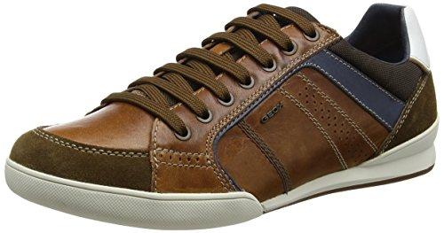 geox-mens-u-kristof-a-low-top-sneakers-brown-browncotto-brownc023510-uk-44-eu