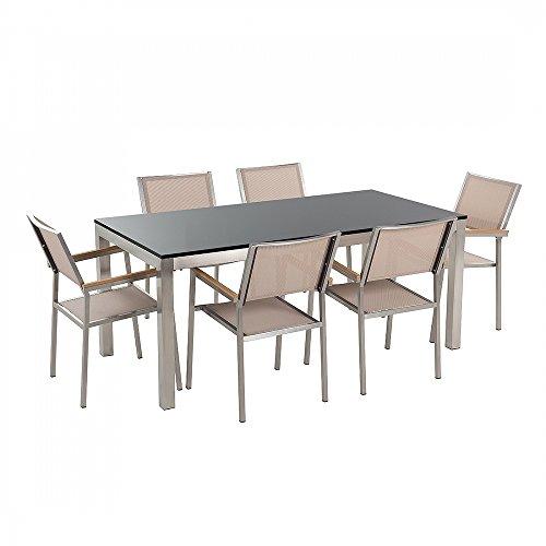 conjunto-de-jardin-granito-negro-una-placa-mesa-180-cm-con-6-sillas-beige-grosseto