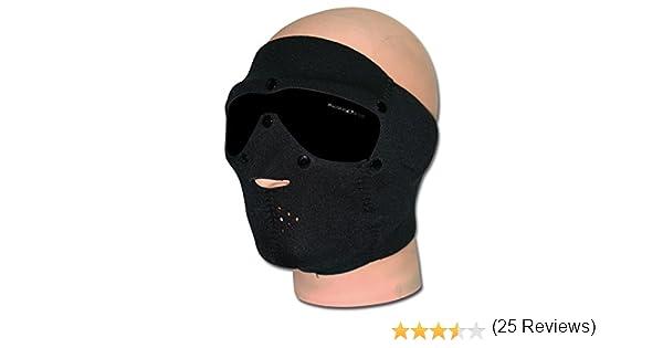 Swiss Eye neoprene maschera di protezione con integrata Occhiali lente nera fumo
