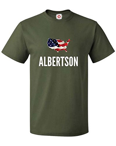 t-shirt-albertson-city-green