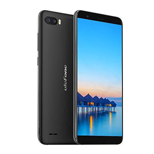 Cellulari Offerte, Ulefone S1 Telefoni Economici 5.5 pollice, Android 8.1 Smartphone 3G, Quad-Core 1GB+8GB, 64GB Espandibili Cellulare, Fotocamera 8MP+5MP, 3000mAh, Dual Sim/Face Unlock/GPS-Nero