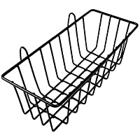 """Grid Hanging Basket Iron Wall Mounted Decoration Innovative Flower Pot Shelf Small Items Display Rack Indoor Pendant Abmessungen: 9,25""""Breite x 3,15"""" Tiefe"""