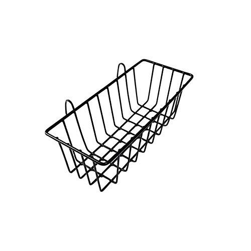 Wall Korb (iBaste Metall Wire Hängepflanze Korb, multifunktional Creative Mesh Wall Grid Halter Aufbewahrung Organizer Halter Regal Blumentöpfe)