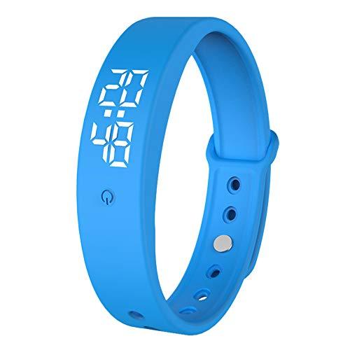 OPAKY Bunte Smart Wrist Band Schlaf Sport Fitness Schrittzähler Armband Uhr für Kinder, Damen, Männer