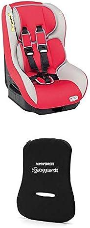 Foppapedretti Go! Evolution Seggiolino Auto, senza Isofix, Unisex Bambini, Rosso (Red) + Dispositivo Antiabban