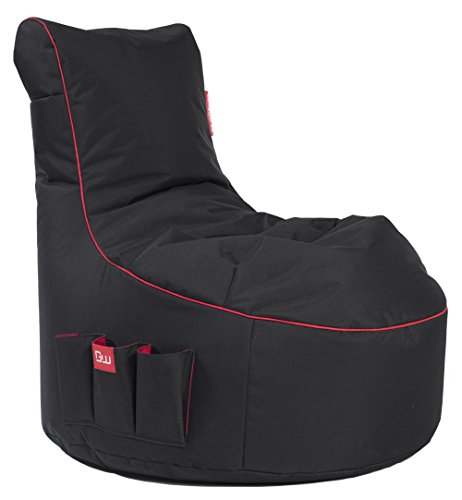GAMEWAREZ Crimson Thunder 2.0 Gaming Sitzsack, MADE IN GERMANY. für PS4,...
