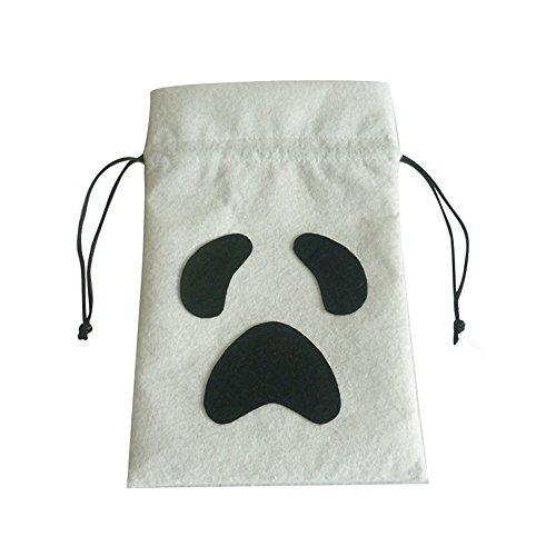 niceEshop(TM) Halloween Drawstring Aufbewahrungsbeutel Geschenk Beutel Trick- Oder Behandlung Goody Beutel