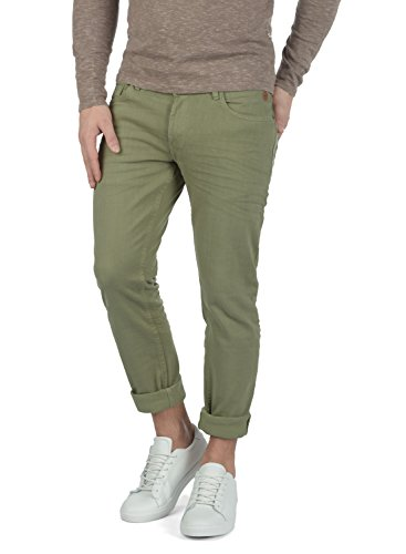 Blend Paccio Herren Jeans Hose Denim Aus Stretch-Material Skinny Fit, Größe:W32/32, Farbe:Jungle Green (77196)