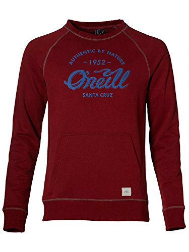 O'Neill Herren Sweatshirt LM Santa Cruz Sweat Brick Red