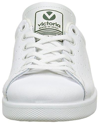 Victoria Deportivo Basket Piel, Sneakers Basses mixte adulte Vert (verde)