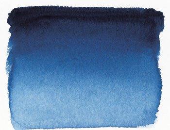 Sennelier French Wc Half Pan Blue Indanthrene - Wc Koi