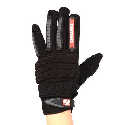 barnett FLG-02 gants de football américain de linemen new fit, OL,DL, Noir, Taille M