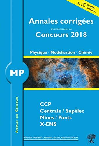 Annales 2018 CCP Mines Centrale Polytechnique