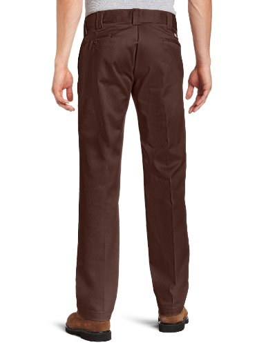 Dickies Herren Hose S/Stght Work Pant Braun (Chocolate Brown Cb)