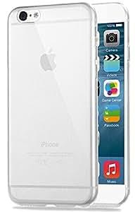 COVERbasics AIRGEL 0.3mm per Apple iPhone 6 PLUS e 6S PLUS 5.5 Cover Custodia con Bordo Protezione Proteggi Fotocamera TRASPARENTE Silicone Gel Gomma TPU Flessibile Sottile Fina Invisibile Ultra Slim