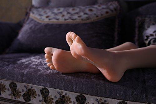 kumiho-Maniqui-de-pie-Modelo-de-pie-Molde-de-pierna-Modelo-de-pie-de-mujeres-Calcetines-Medias-Zapatos-Cadena-de-pie-Modelo-de-exhibicin-Collar-de-tobillo-Molde-de-zapatos-de-tacn-alto-Tamao-real-Pier