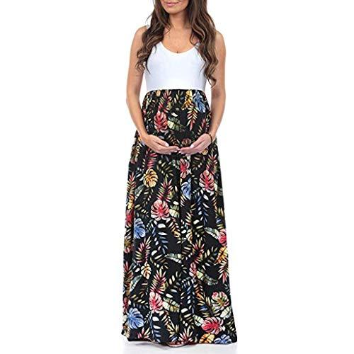 bd883599d Vectry Vestidos Fiesta Premama para Boda Vestido Premama Blanco Ropa  Embarazada Invierno Vestidos con Faldas Midi Vestidos Elegantes Niña Vestido  Negro