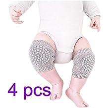 Da.Wa 4PCS Rodilleras del Bebé Para Proteger Seguridad Bebé Niño Gateando Coderas