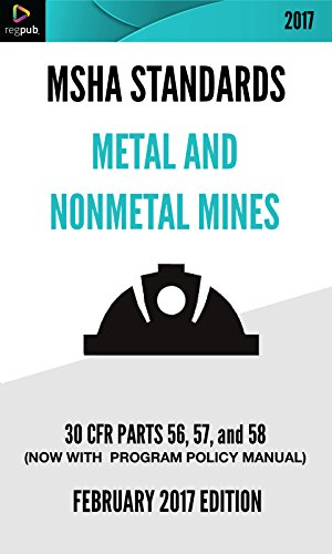 MSHA Standards for Metal and Nonmetal Mines: 30 CFR Parts