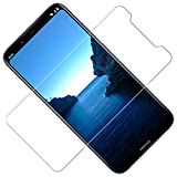 TOCYORIC Film Protection Écran pour Nokia 8.1, Verre Trempé Nokia 8.1 Film Protectuer [9H Dureté] [Anti-Rayures] [Kit d'installation Offert] [2 Pièces]