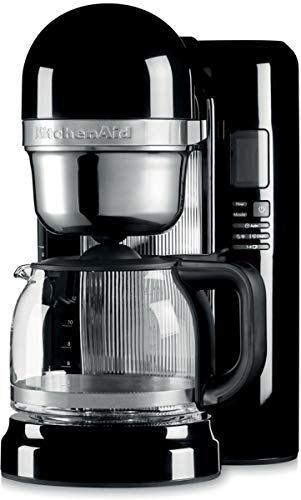 KitchenAid 5KCM1204EOB B01M7NG86F, Acryl, 1.7 liters, Schwarz (Kaffeemaschine Filter Aid Kitchen)