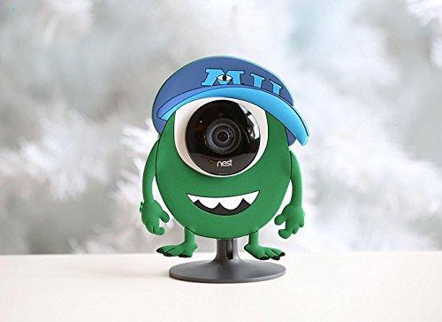 Haut Fall (Nest Cam Sicherheit Kamera Camouflage Grün Cover Haut Fall Disguise Schutz Dekoration passt auch auf Yi Home Cam)