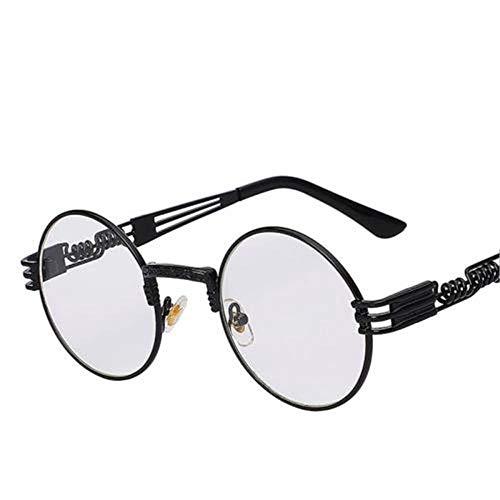 ANSKT Metal Sunglasses Herren Round Steampunk Sunglasses Women-1