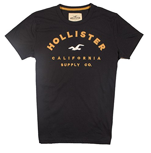 hollister-herren-men-t-shirt-s-black-098