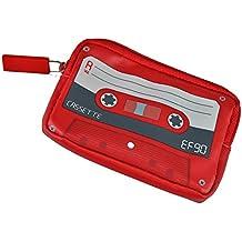 Geldbörse Kassette - Schönes Geschenk für Musiker