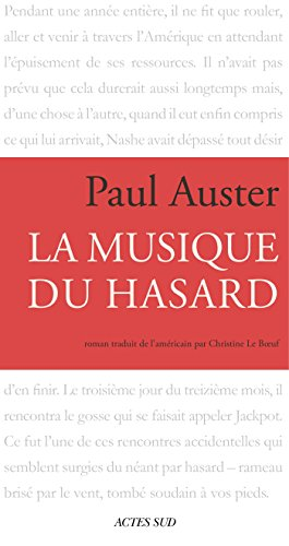 La Musique Du Hasard [Pdf/ePub] eBook