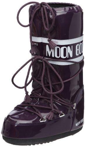 Tecnica MOON BOOT VINIL, Damen und Kinder Snowboots Stiefel, Violett (VIOLETT 012), 39/41 EU