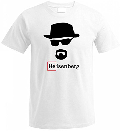 HEISENBERG BREAKING BAD WALTER WHITE Fan T Shirt S/M/L/XL/